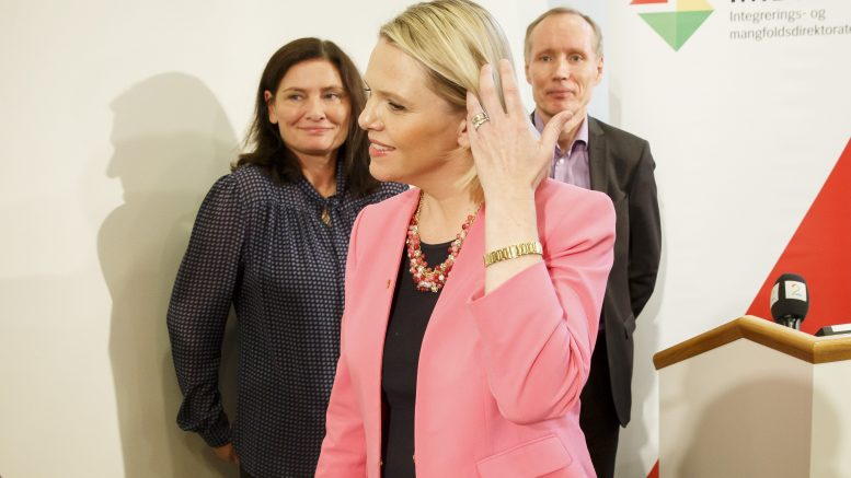 Minister of Immigration and Integration Sylvi Listhaug (Progress Party)