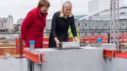 HRH Crown Princess Mette-Marit and Mayor of Oslo Marianne Borgen