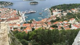 The island of Hvar in Croatia