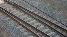 Train line rails and wheels Spanish couple Train Delays Østfold line