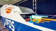 The world's largest LEGO ship
