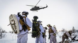 military exercise in Norway