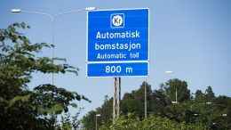 Toll station on the E18 at Lysaker