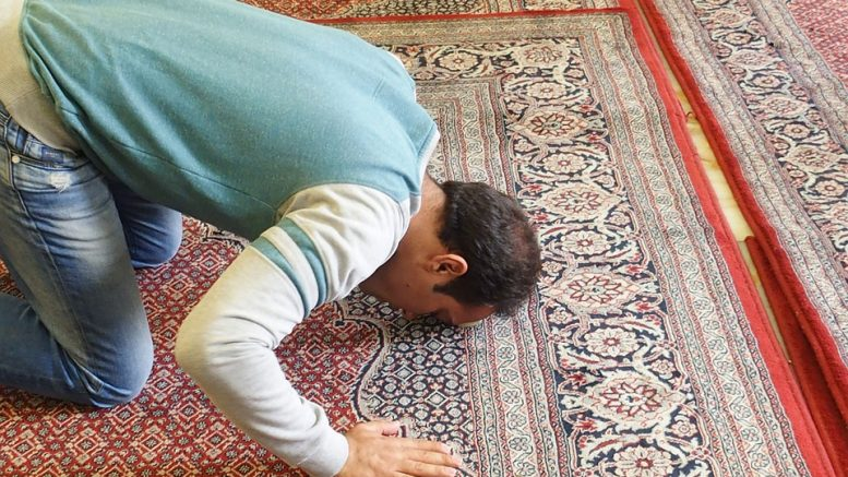 A Muslim who prays