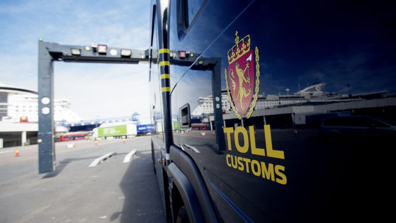 Customs control seizures