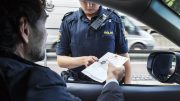 Norwegian Traffic Police UP Cell Phone Mobile