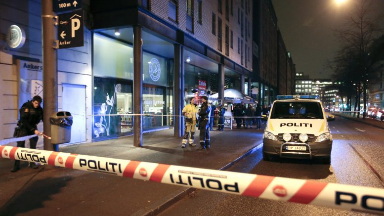 There have been some gun fires at a bar in Oslo