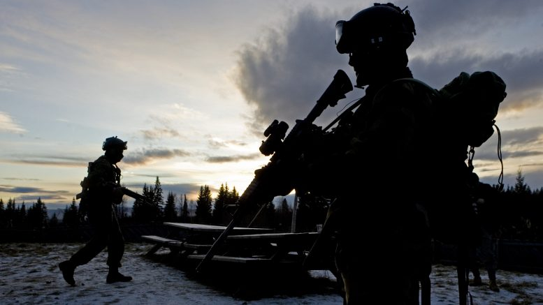 Soldiers from the armed forces ' special command, Norway