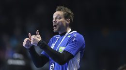 Handball coach, Christian Berge