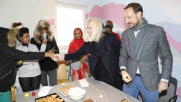 .Crown Prince Haakon and Crown Princess Mette-Marit