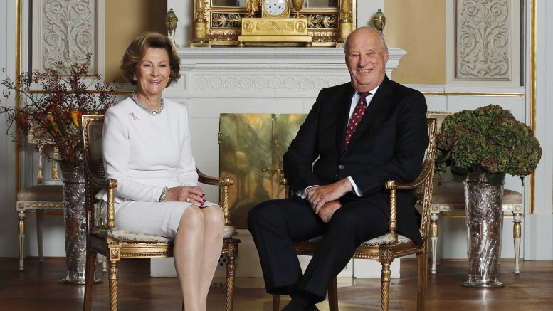King Harald and Queen Sonja 80 years