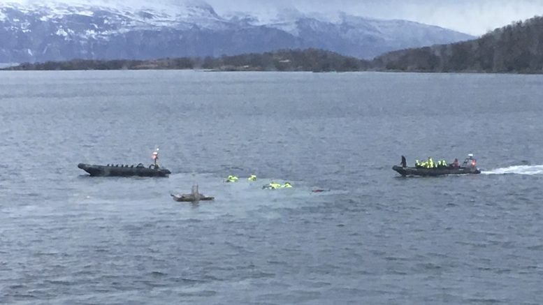 Boat accident in Harstad