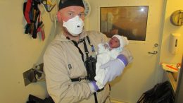 A little boy was born aboard Siem Pilot Saturday