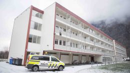 Asylum reception center in Sunndal