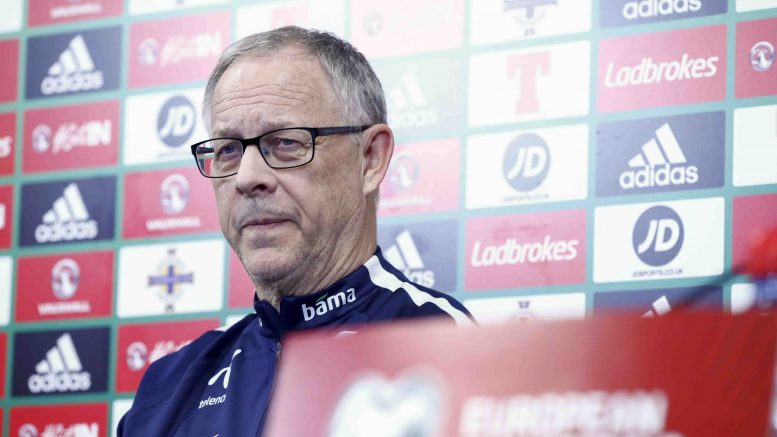 Lars Lagerbäck weak performance