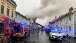 Fire in Kristiansand