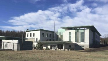 The new US embassy at Huseby in Oslo
