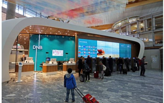 DnB opened their newest branch on Monday (Photo: Avinor Oslo airport)