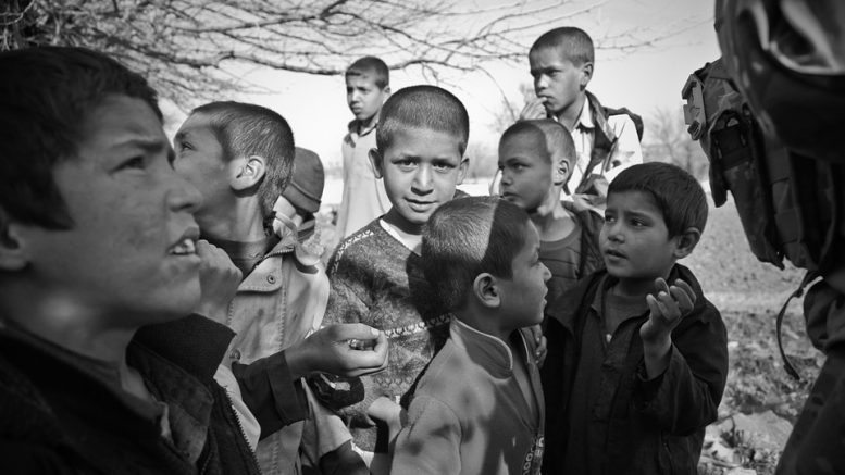 Children in Afghanistan Kabul