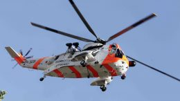 Sea King rescue helicopter
