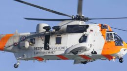 Sea King helicopter rescue