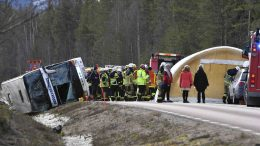 Swedish bus accident
