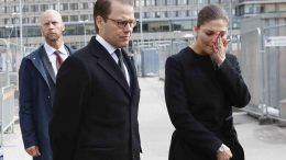 Stockholm,Sweden.Crown Princess Victoria and Prince Daniel