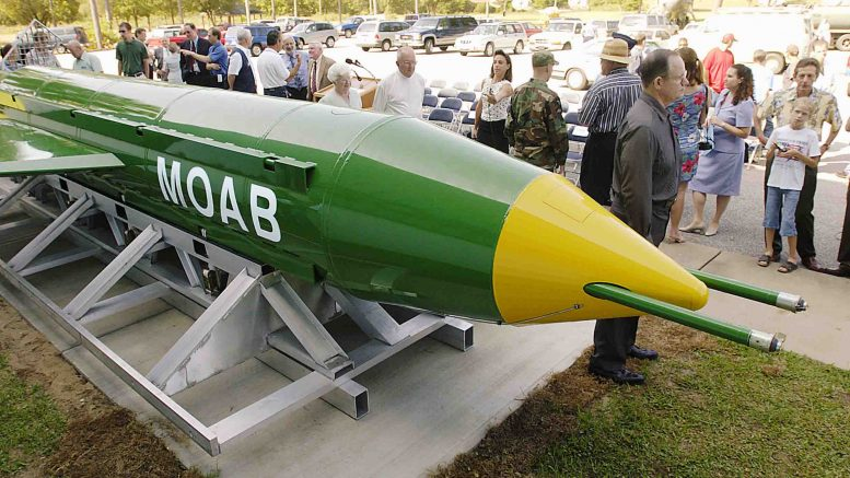 'Mother of all Bombs'