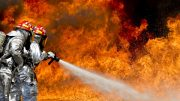 Wave of forest fires in Northern Europe