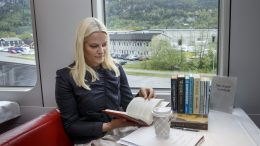 Mette Marit, Literature train