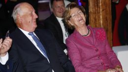 the Royal Couple, King Harald and Queen Sonja