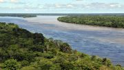 Brazil Amazon River, deforestation