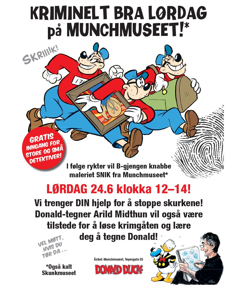 Beagle Boys in Oslo