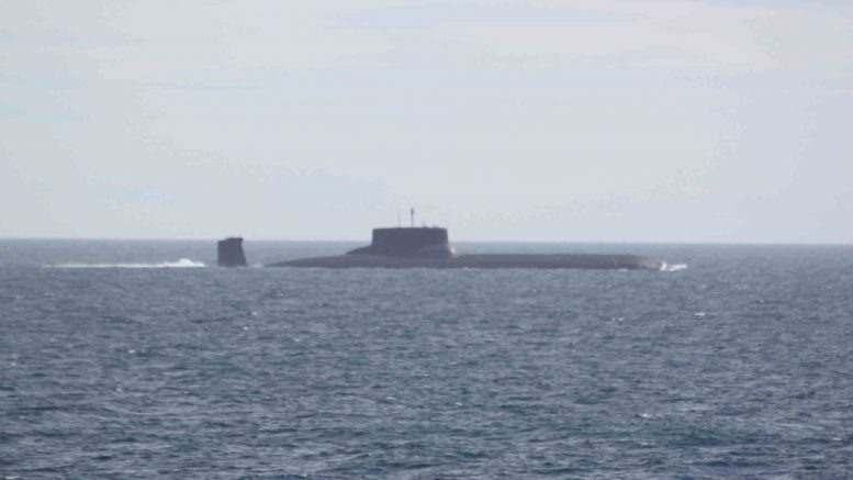 Dmitry Donskoj nuclear submarine sub sea cables