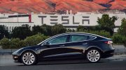 Tesla batteries electric car