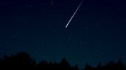 Shooting star Meteor showers