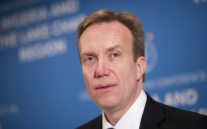 Minister of Foreign Affairs Børge Brende Trump