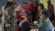 Maasai women ,Nairobi, Kenya, President Uhuru Kenyatta, polls to vote,general election