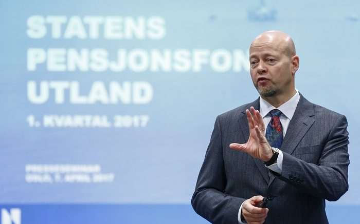 Yngve Slyngstad Government's Pension Fund Norway