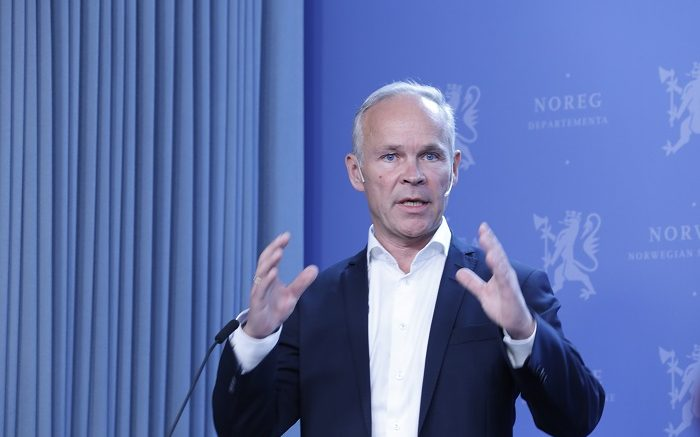 Local Government and Modernisation Minister Jan Tore Sanner.