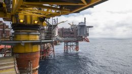 Valhall field in the North Sea