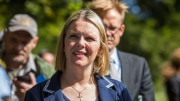 Minister of Immigration Sylvi Listhaug