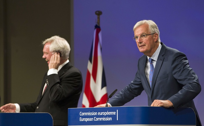 European Union chief Brexit negotiator Michel Barnier