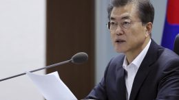 South Korean President Moon Jae-