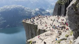 Preikestolen , Pulpit Rock