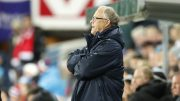 Norway's coach Lars Lagerback