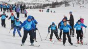 Skiing fun for one million children snow