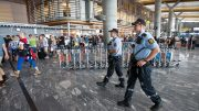 Police at Oslo Airport