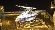 The Russian helicopter that crashed a week ago near Barentsburg