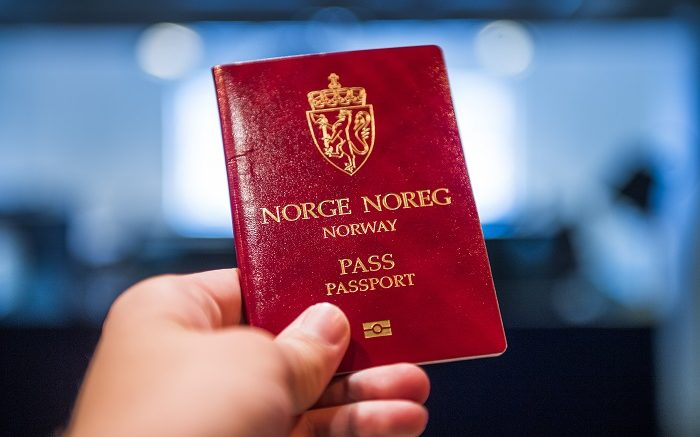 Norwegian passport UDI
